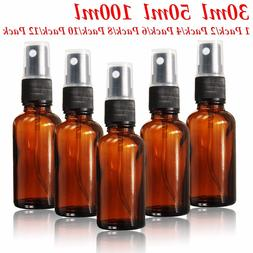 15ml~100ml Glass Bottle Fine Mist Spray for Aromatherapy Per