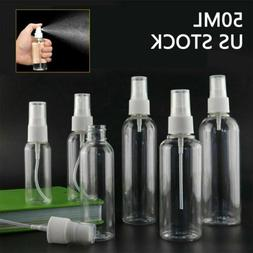 1X-20X 50ML 1.69oz Clear Plastic Perfume Empty Spray Bottle