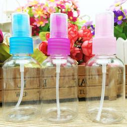 2PCS 50ML Mini Plastic Perfume Cosmetic Container Spray Bott