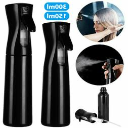300ml Hair Fine Mist Spray Water Bottle Sprayer Hairdressing