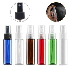 30ml 1oz Travel Plastic Refillable Mist Spray Atomizer Bottl