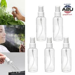 5/10pcs 100ml Reuse Travel Plastic Empty Spray Bottles Perfu