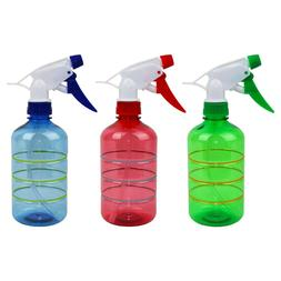 500 ml Empty Plastic Spray Bottle Mist Water Sprayer Hair Ca