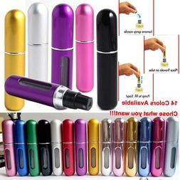 5ml Portable Perfume Refillable Atomizer Empty Bottle Pump S