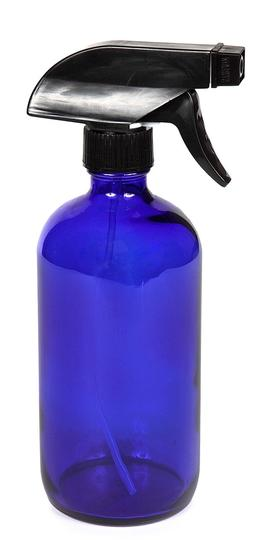 New, High Quality, Large, 16 Oz, Empty, Cobalt Blue Glass Sp