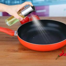 Oil Pump Spray Bottle Olive Can Tool Pot Cooking Kitchen Sta
