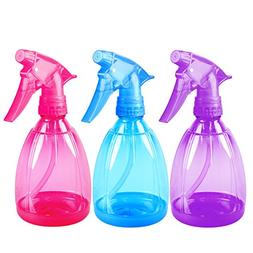 Pack of 3-12 Oz Empty Plastic Spray Bottles - Attractive Vib