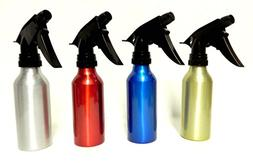 4 Aluminum Spray Bottles Atomizer Mist Perfume Hair Care Sal