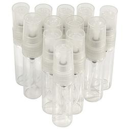 Amazing Empty Spray Bottles Refill Mist Pump Travel 12 Pc Sm