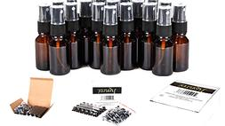 Spray Amber Glass Bottles For Essential Oils Perfume Small 2