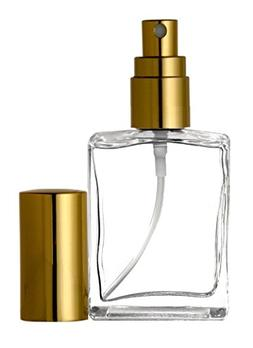 Riverrun Perfume/Cologne Atomizer Empty Refillable Glass Bot