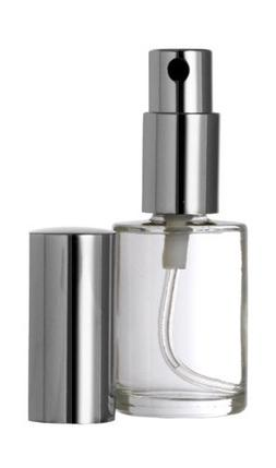 Riverrun Set of 3 Perfume Cologne Atomizer Round Glass Bottl