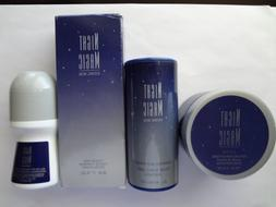 NIGHT MAGIC 4 PIECE COLLECTION by Avon.