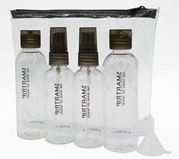 Smartrip Travel Bottles Set containers with zippered travel