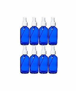 Perfume Studio 4 oz Cobalt Blue Glass Spray Bottles & Essent
