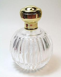 Empty Glass Refillable Perfume/cologne Bottle with Gold Atom
