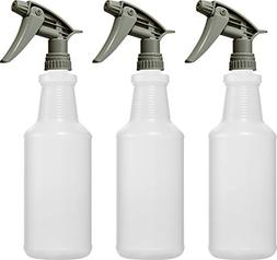 empty plastic spray bottles 32 oz chemical