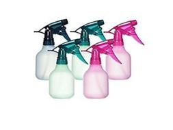 Tolco Empty Spray Bottles 5 pack, colors may vary