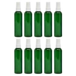 Essential Oil Spray Bottles 4oz PET Plastic BPA Free Green F