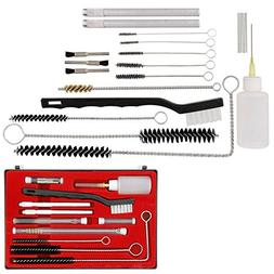TCP Global Professional 23 Piece Spray Gun Cleaning Kit with