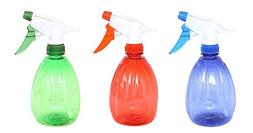 HOMEDECISION Pack of 3 Durable Sturdy Empty Spray Bottles 55