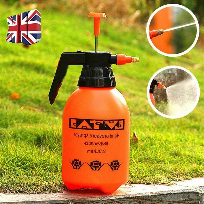 2/3L Portable Chemical Pump Pressure Water Spray Bottle
