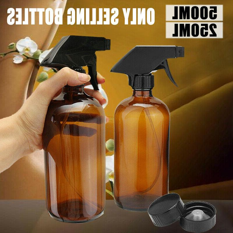 250 500ml amber glass aromatherapy essential oil
