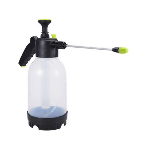 2L Pressure Sprayer Plastic Car Water Weed Killer Control