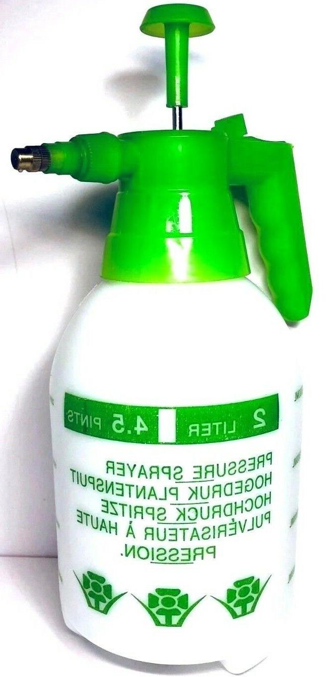 2L Sprayer Pressure Pump Bottle Garden Plant Watering