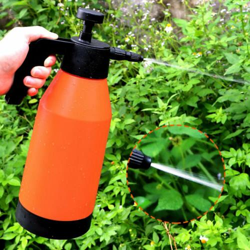 2L Portable Pump Pressure Garden Water Spray Bottle