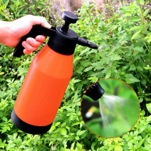 2L Chemical Pump Pressure Spray Bottle Handheld US