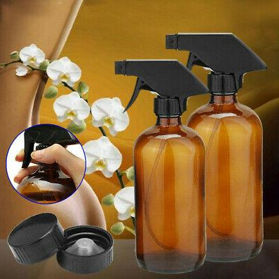 2pcs glass spray bottles aromatherapy essential oil