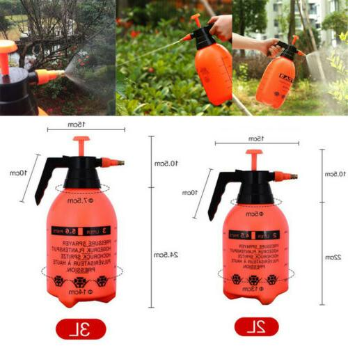 GARDEN PRESSURE SPRAYER Pump Action Watering Weed Killer Han