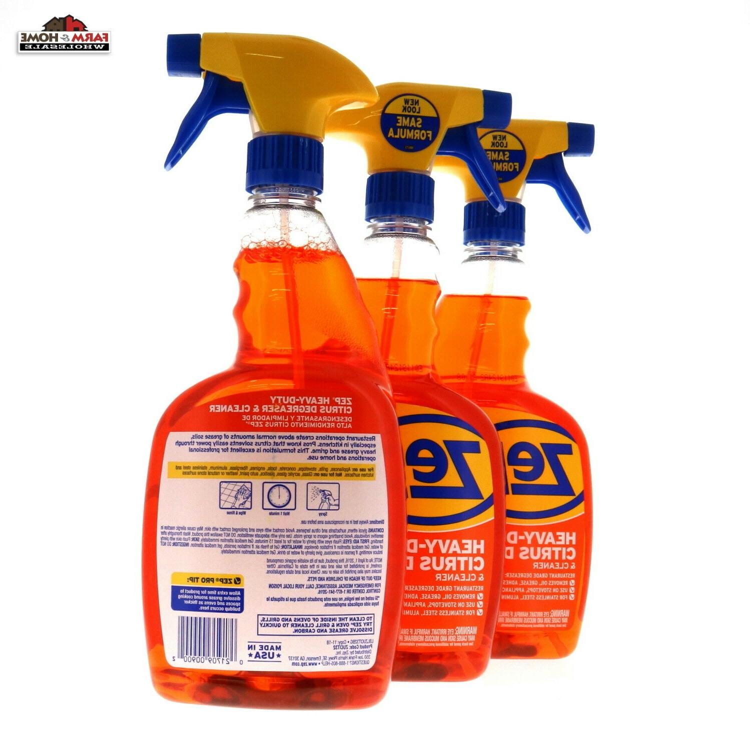ZEP Degreaser & 32 oz ~ Quality