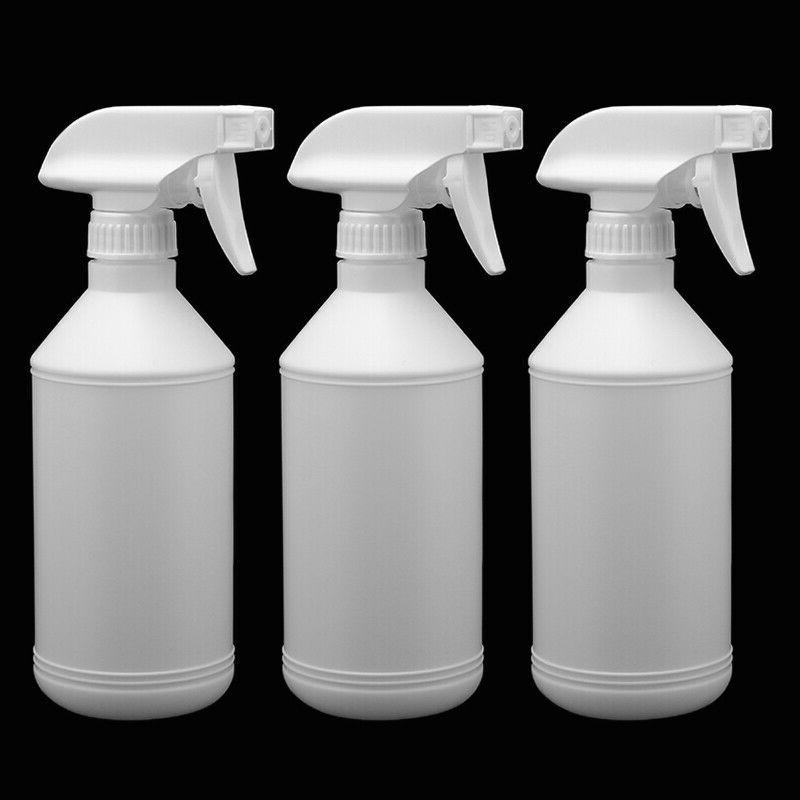 3Pcs Plastic Spray Bottle 16Oz Mist Flower Sprayer Hair Salo