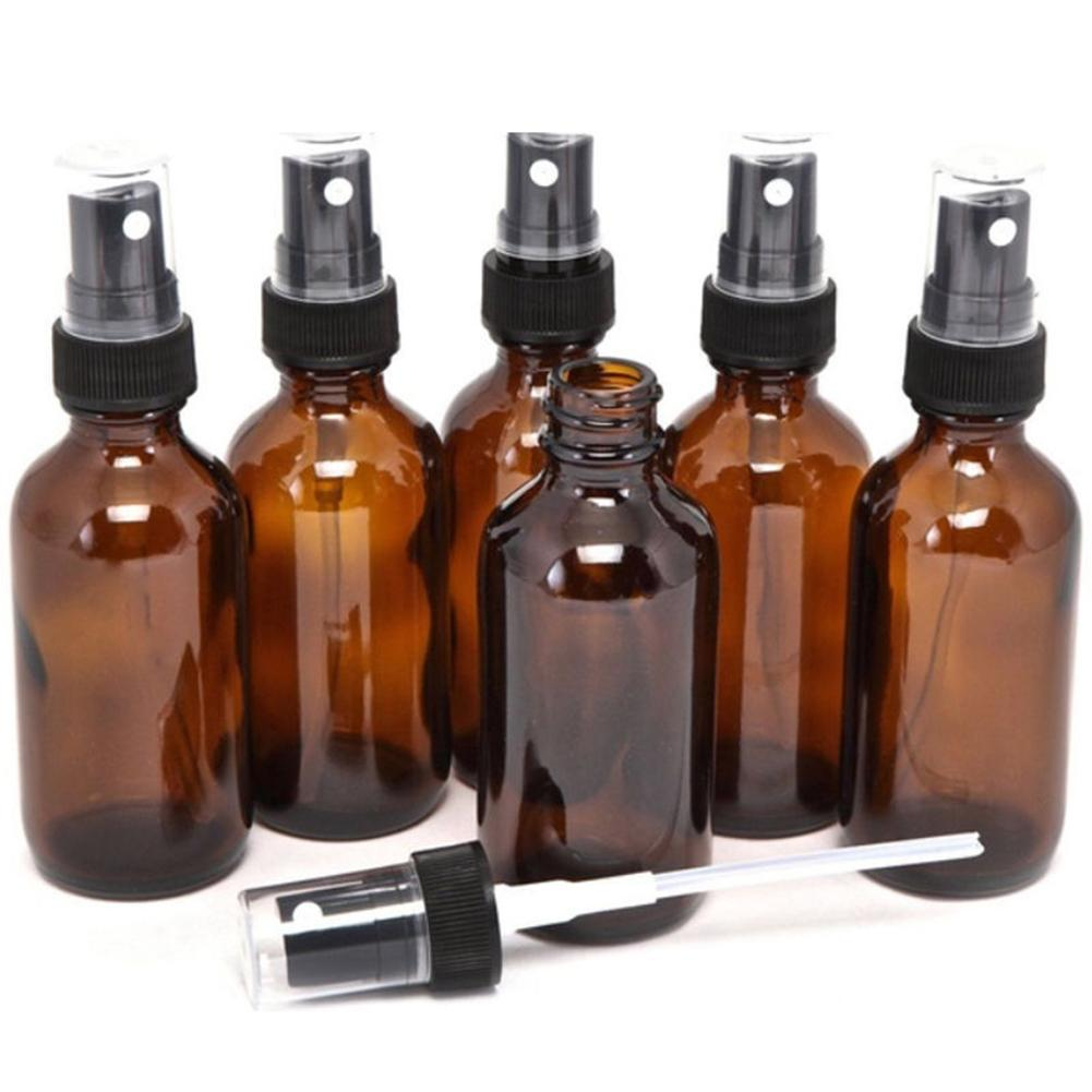 5-100ML Amber Pipette <font><b>Spray</b></font> Refillable Travel