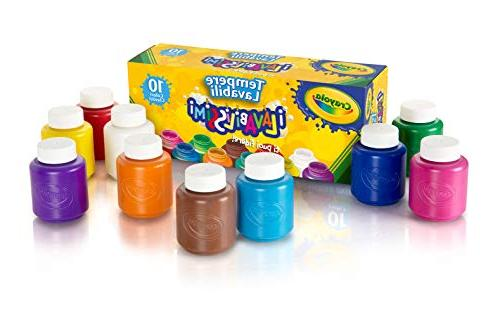 Crayola Safe for Kids Washable Paint Set - 10ct Classic Colo