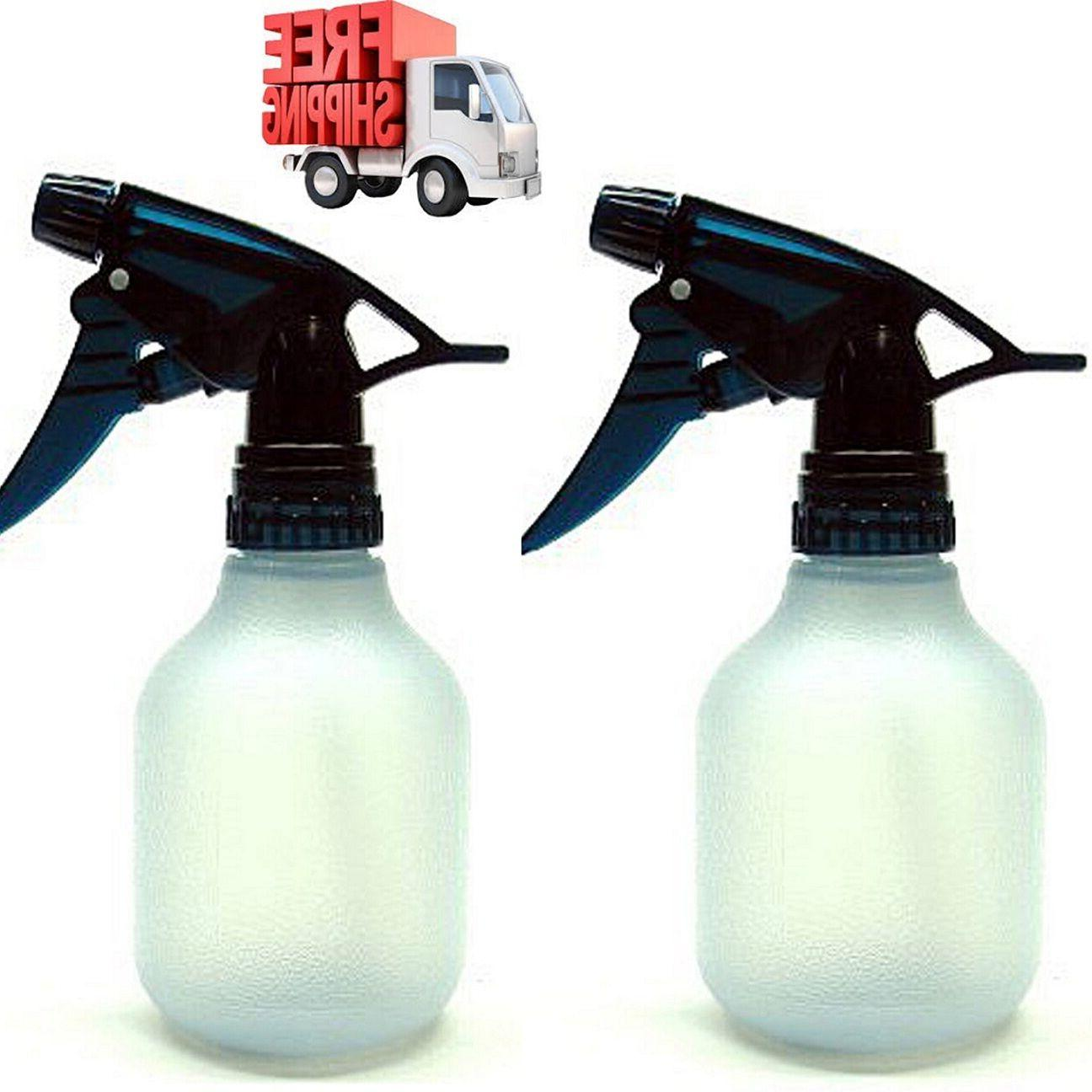 Empty Spray Bottle 2Pc 8Oz Water Chemical Small Lot Travel P