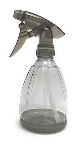 Empty Plastic Spray Bottle 12 Ounce, Clear Adjustable Head S