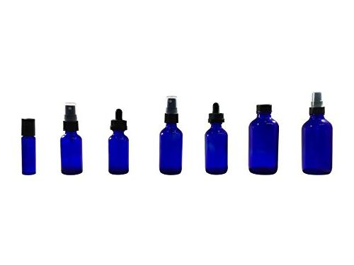 Mist spray/Glass Medicine Amber Boston - Oils, Scents, Bath, Cooking, Cosmetic.-