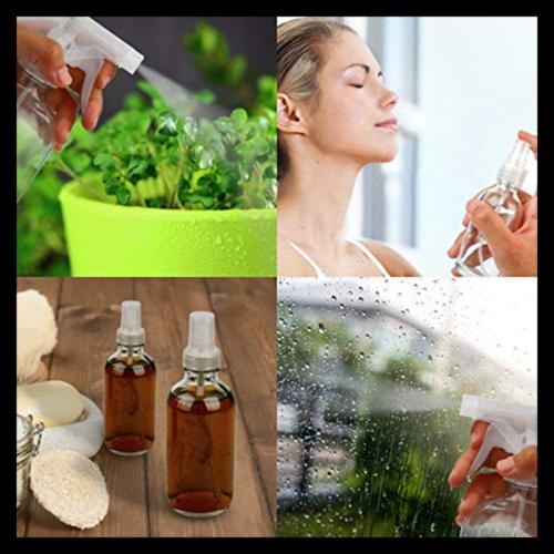 Glass Bottle Clear Set For Cleaning Products Aromatherapy