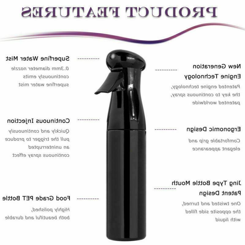 150/250/300ml Mist Hairdressing Styling 1/2Pcs