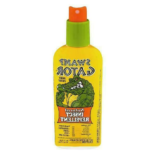 NEW HARRIS HSG-6 SWAMP GATOR 6OZ  ALL NATURAL INSECT REPELLE