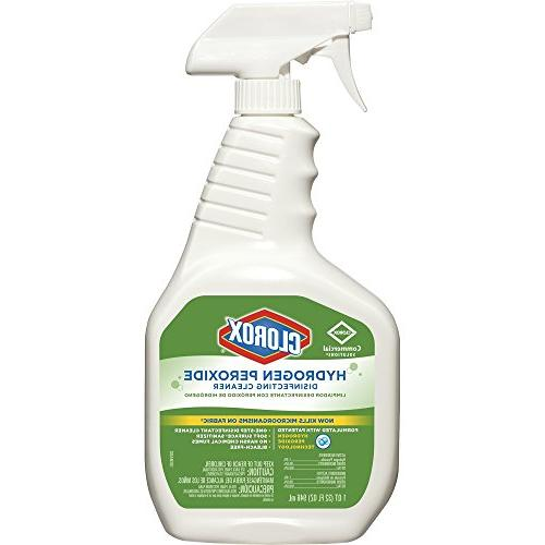 hydrogen peroxide disinfecting cleaner