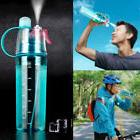 Sport Cycling Mist Spray Water Gym Beach Bottle Leak-proof D