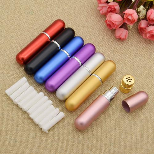 women blank refillable nasal inhaler perfume bottle