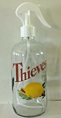 Young Living Essential Oil Logo Thieves Household Cleaner Gl