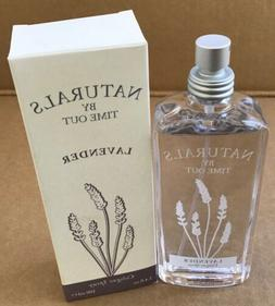 Naturals by Time Out Lavender Perfume Cologne Spray 3.4 fl o
