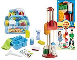Melissa & Doug Let's Play House! Dust, Sweep, and Mop Set