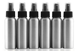 Cornucopia Brands 2-Ounce Aluminum Fine Mist Spray Bottles ;